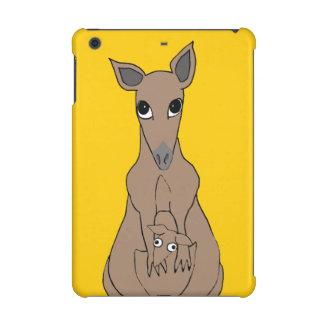 whimsical kangaroo iPad mini retina cases