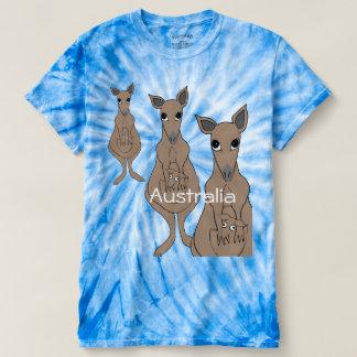 whimsical kangaroo t-shirt