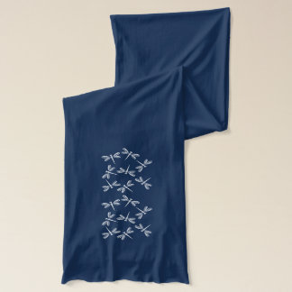 Whimsical Lacey Dragonfly Scarf