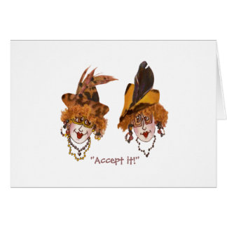 Whimsical Ladies Wiper and Bug Cards
