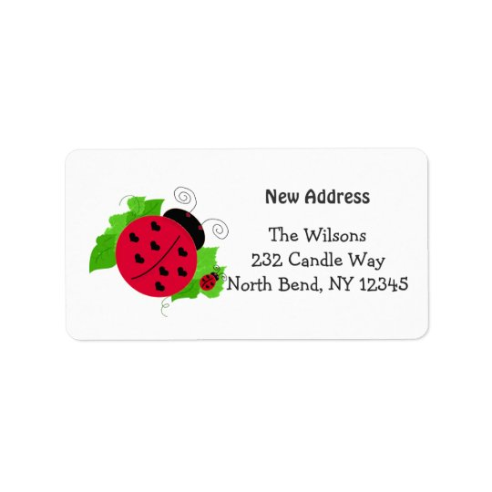 Whimsical Ladybug New Address
