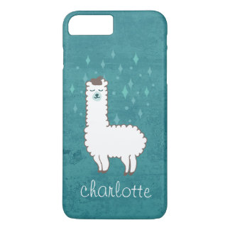Whimsical Lama Illustration iPhone 8 Plus/7 Plus Case