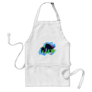 Whimsical Mare and Foal Gifts and Tees Standard Apron