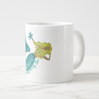 Whimsical Mermaid on Mug