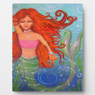 Whimsical Mermaid Plaque