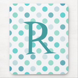 Whimsical Monogram Mouse Pad
