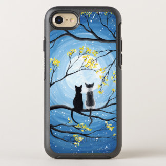 Whimsical Moon with Cats OtterBox Symmetry iPhone 8/7 Case