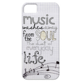 whimsical musical lover iphone 5 case