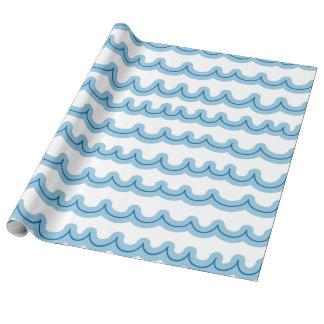 Whimsical Ocean Waves
