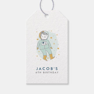 Whimsical Outer Space Favor Tags