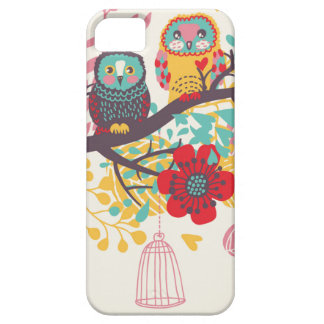 Whimsical Owl iPhone 5/5S Case