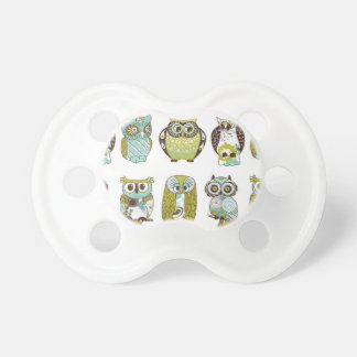 Whimsical Owl Soother / Pacifier