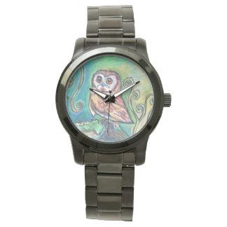 Whimsical Owl Watch