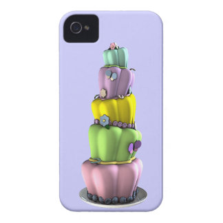 Whimsical Pastel Topsy Turvy Cake Case-Mate iPhone 4 Case