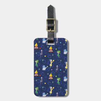 Whimsical Pattern Luggage Tag