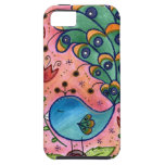 Whimsical Peacock iphone case iPhone 5 Case