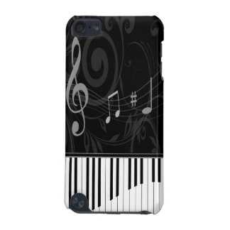Whimsical Piano and musical notes iPod Touch 5G Cover