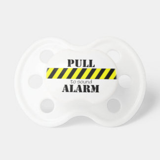 Whimsical Pull To Sound Alarm Pacifier