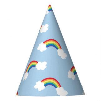 Whimsical Rainbow Birthday Party Hats