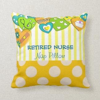 Whimsical Retired Nurse Pillow