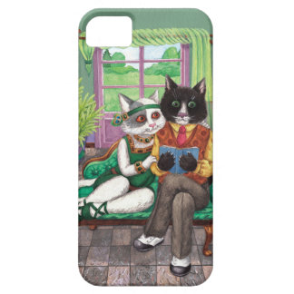 Whimsical Retro Cats from the Roaring 1920s iPhone 5 Covers