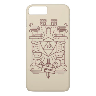 Whimsical RPG Iphone plus case