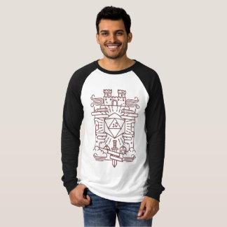 Whimsical RPG Raglan T-Shirt