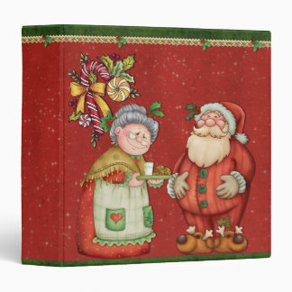 Whimsical Santa Claus Design Binder