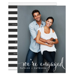 Engagement Invitations from Zazzle