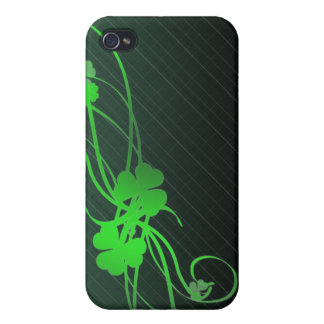 whimsical shamrock iPhone 4/4S covers