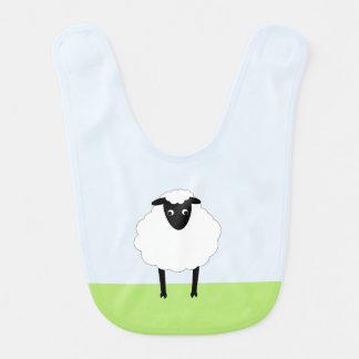 Whimsical Sheep Bib