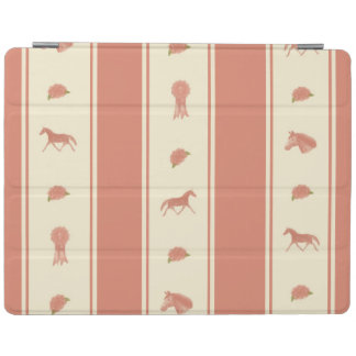 Whimsical Show Pony Horse Pattern iPad Cover