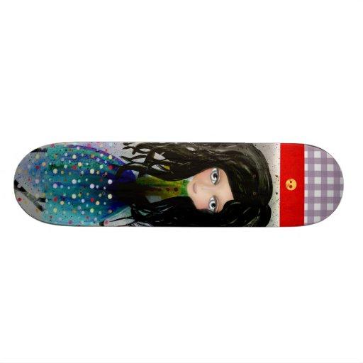 Whimsical Skateboard