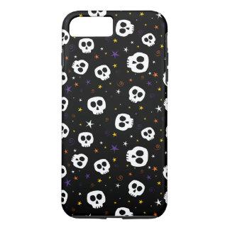 Whimsical Skull Print Phone Case