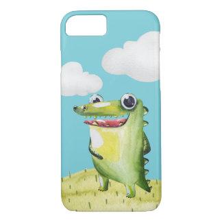 Whimsical Smiling Gator iPhone 8/7 Case