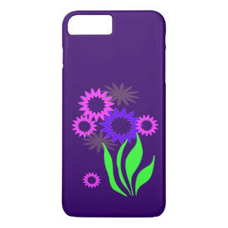 Whimsical Spring Flowers iPhone 7 Plus Case