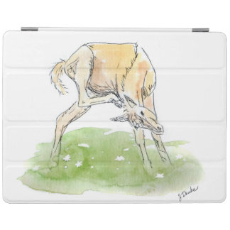 Whimsical Spring Horse Foal iPad Cover