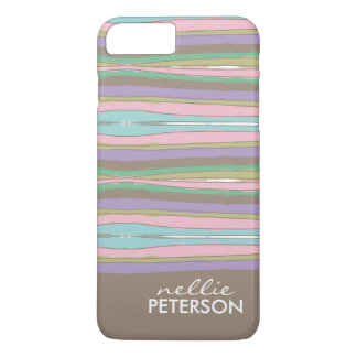 Whimsical Stripes iPhone 8 Plus/7 Plus Case