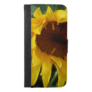 Whimsical Sunflower iPhone 6/6s Plus Wallet Case