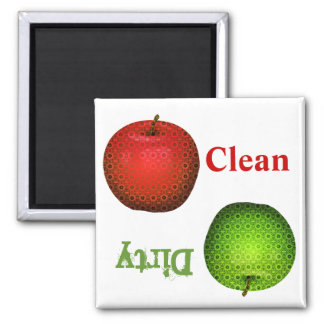 Whimsical Teacher's Dish Washer Magnet