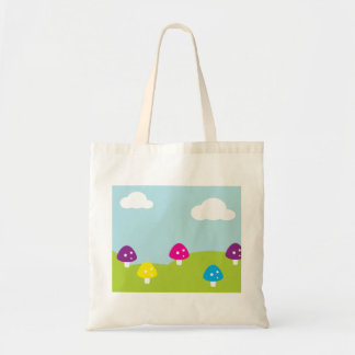 Whimsical Toadstools Tote Bag