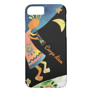 Whimsical Tribal Kokopelli iPhone 7 Case