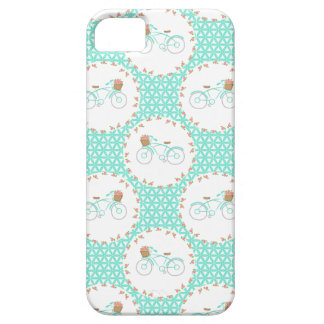 Whimsical Vintage Bicycle Pattern iPhone 5 Cover