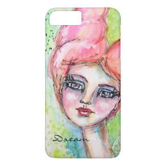 Whimsical Watercolor Fairy Girl Colorful Artistic Case-Mate iPhone Case