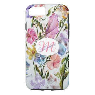 WHIMSICAL WATERCOLOR FLOWERS iPhone 8/7 CASE