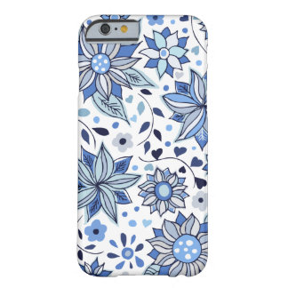 Whimsical Winter Love Flowers iPhone 6 Case