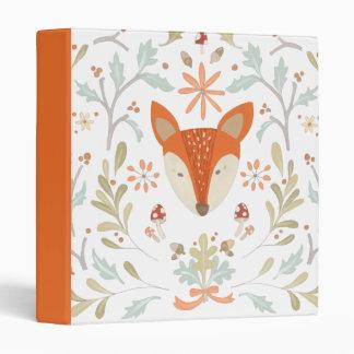 Whimsical Woodland Fox Binder