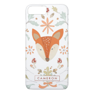 Whimsical Woodland Fox iPhone 7 Plus Case