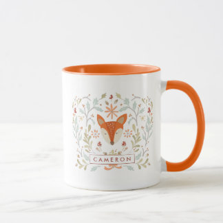 Whimsical Woodland Fox Mug