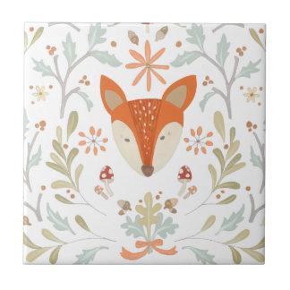 Whimsical Woodland Fox Tile